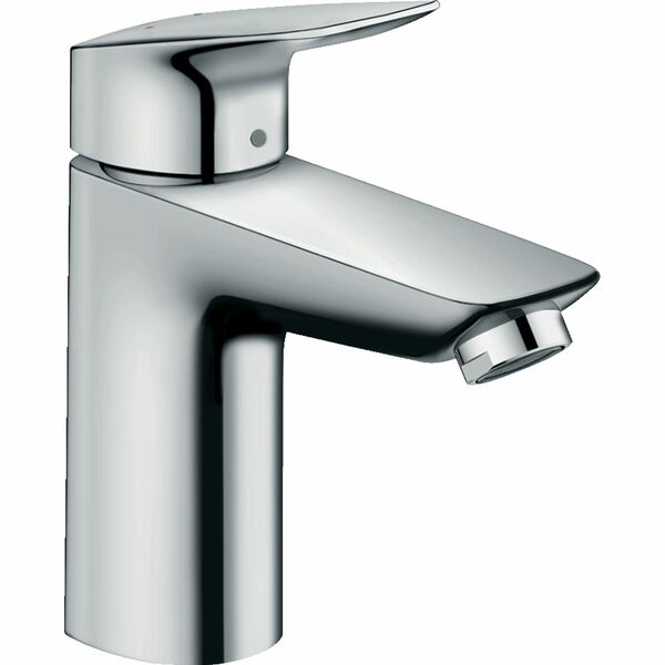 hansgrohe Logis 71101000 Single lever basin mixer 100 without waste