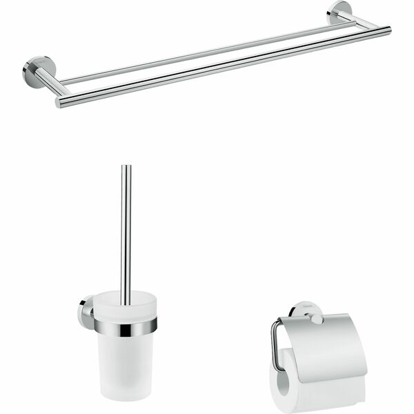 hansgrohe Logis Universal 41727000 Bath-accessory basic set 3 in 1
