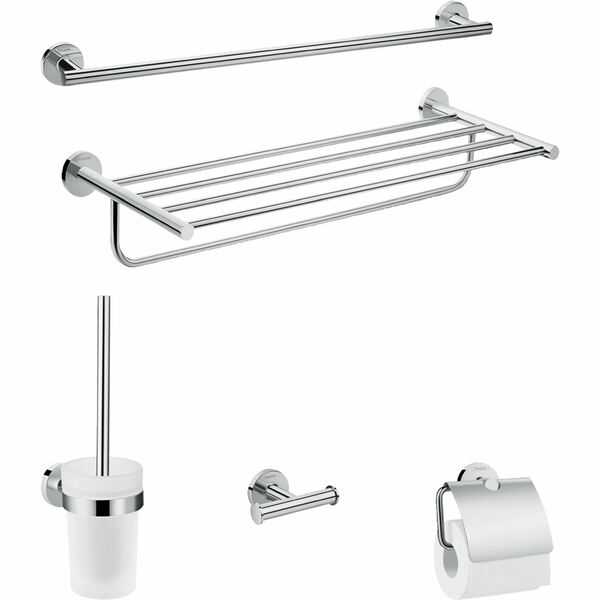 hansgrohe Logis Universal 41728000 Bath-accessory extended set 5 in 1