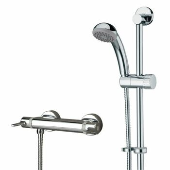 Bristan Design Utility DUL2 SHXARFF C Bar Shower