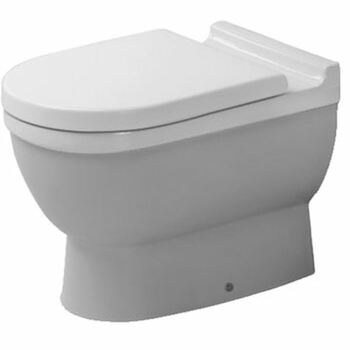 Duravit Starck 3 012409 Floor Standing Back to Wall Pan White