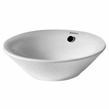 Duravit Starck 1 408330000 330x330 No Tap Hole Countertop Basin