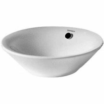 Duravit Starck 1 408530000 530x530 No Tap Hole Countertop Basin