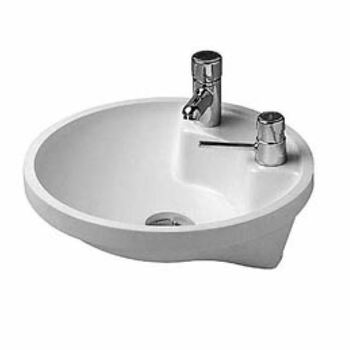 Duravit Architec 0462400000 400x400 1 Tap Hole Under Counter Basin