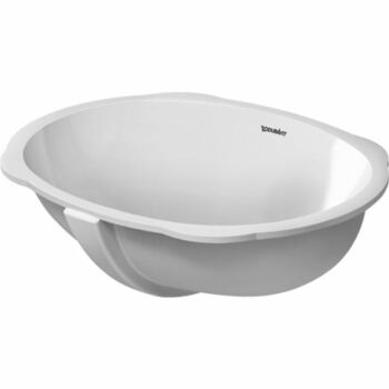 Duravit Santosa 0466510000 510x375 No Tap Hole Under Countertop Basin