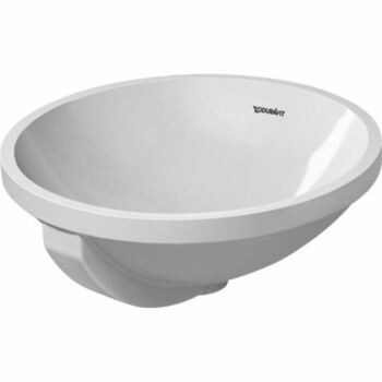 Duravit Architec 0468400000 400x400 No Tap Hole Under Counter Basin