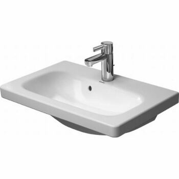 Duravit Durastyle 2337630000 635x400 1 Tap Hole Wall Mounted Basin