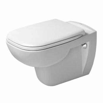 Duravit D-Code 25350900002 Wall Hung Pan White
