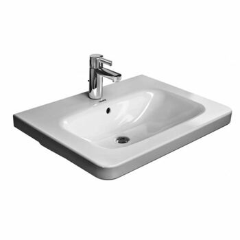 Duravit Durastyle 2320650060 650x480 0 Tap Hole Wall Mounted Basin