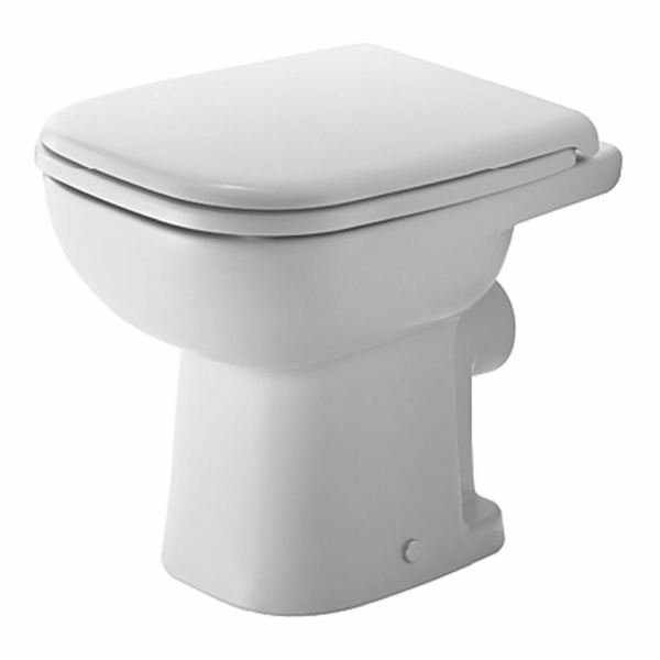Duravit   D-Code   21080900002   Back to Wall Pan