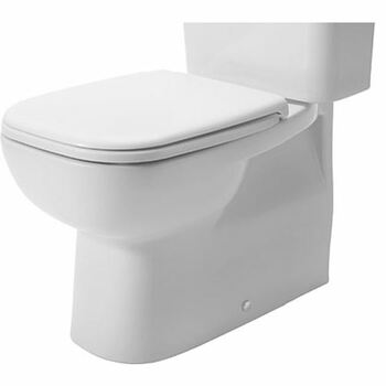 Duravit D-Code 211809 Close Coupled Back to Wall Pan White