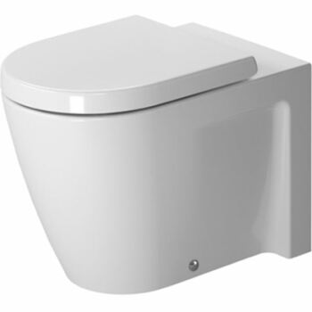 Duravit Starck 2 212809 Back To Wall Pan Closed Back White