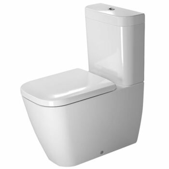 Duravit Happy D2 2134090000 Back to Wall Close Coupled Pan White