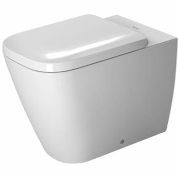 Duravit Happy D2 2159090000 Back to Wall Floor Standing Pan White