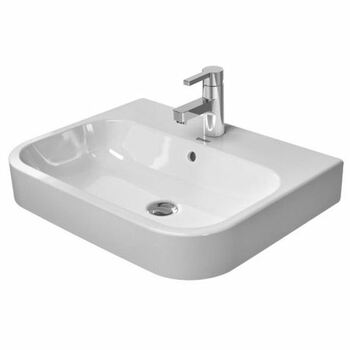 Duravit Happy D.2 231560 No Tap Hole 600 x 460mm Above Counter Basin