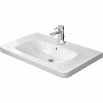 Duravit Durastyle 2320800000 800x480 1 Tap Hole Wall Mounted Basin