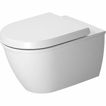 Duravit Darling New 2545090000 Wall Mounted Pan With Fixings White