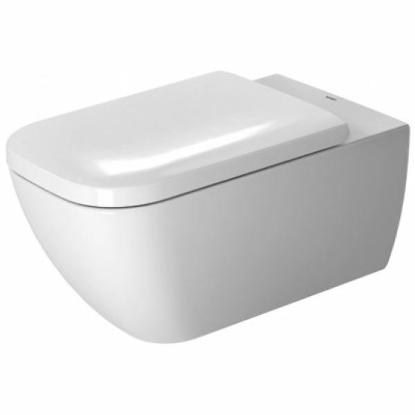 Duravit | Happy D2 | 2550090000 | Wall Mounted Pan