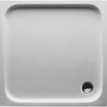 Duravit 720103 D Code Shower Tray 1000 X 1000 White