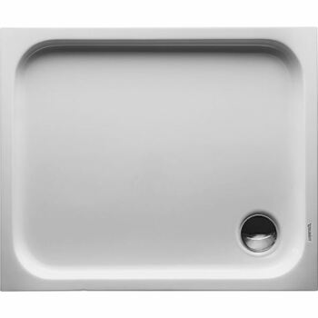 Duravit 720104 D Code Shower Tray 900 X 750 White