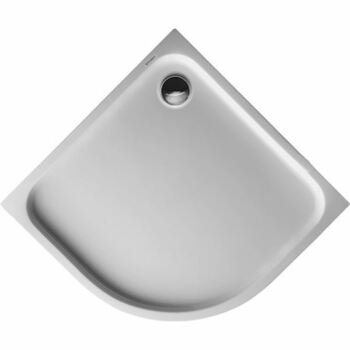 Duravit 720108 D-Code Quad Shower Tray 900 X 900 White