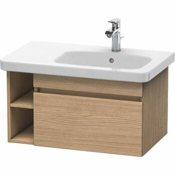 Duravit Durastyle DS639305252 730x398 Wall Mounted Right Hand Vanity Unit European Oak