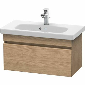 Duravit Durastyle DS639905252 730x398 Wall Mounted Vanity Unit European Oak