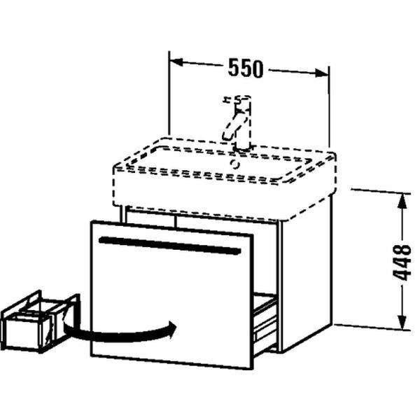 Duravit | X-Large | XL604402222 | Vanity Units