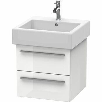 Duravit X-Large XL634302222 450x448 Wall Mounted Vanity Unit White High Gloss