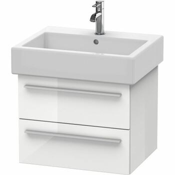 Duravit X-Large XL634402222 550x448 Wall Mounted Vanity Unit White High Gloss