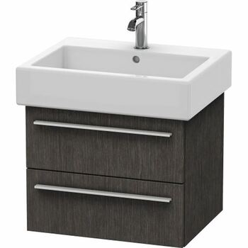Duravit X-Large XL634407272 550x448 Wall Mounted Vanity Unit Brushed Oak Dark