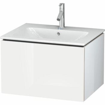 Duravit L-Cube LC614002222 620x400 Wall Mounted Vanity Unit White High Gloss