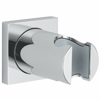 Grohe 27075 Shower Handset Holder Square Plate Chrome