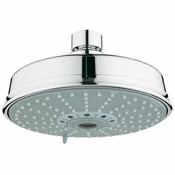 Grohe Rainshower 27128 Rustic Shower Chrome Wall Mounted