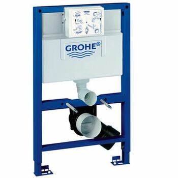 Grohe 38526 Rapid SL WC Frame 0.82M Top/Front Dual/ Single Flush 6/3l