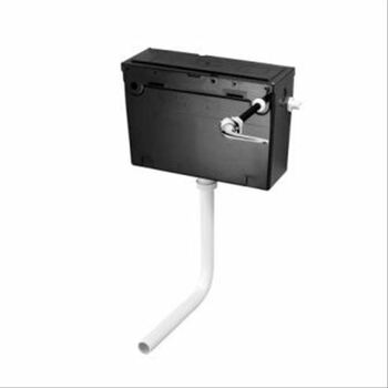 Armitage Shanks S362167 Conceala 2 Cistern Low Level Side Supply Without Lever Self Colour