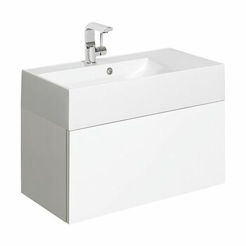 Crosswater Elite EL7000DWG+ 700mm Basin Unit White