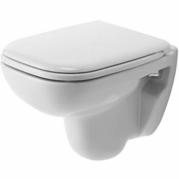 Duravit D-Code 221109 Compact Wall Mounted Pan White