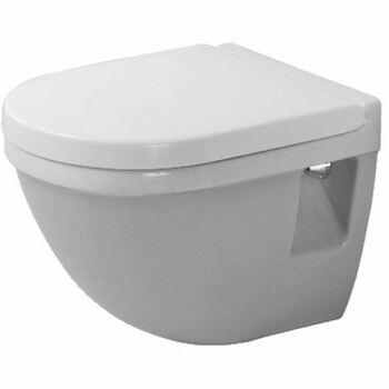 Duravit Starck 3 220209 Compact Wall Hung Pan White