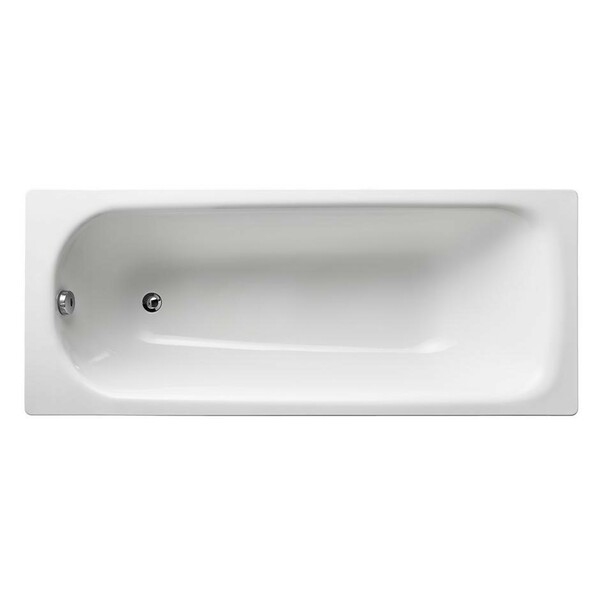 Armitage Shanks Sandringham 21 S183701 1700 x 700 No Tap Hole Steel Bath