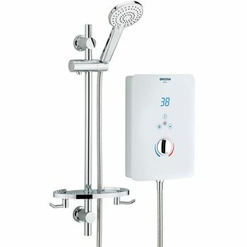 Bristan BLISS BL385W  8.5Kw Electric Shower White