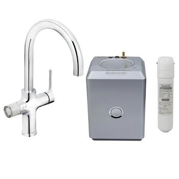 Bristan Rapid GLL RAPSNK4 C 4in1 Boiling Water Kitchen Mixer