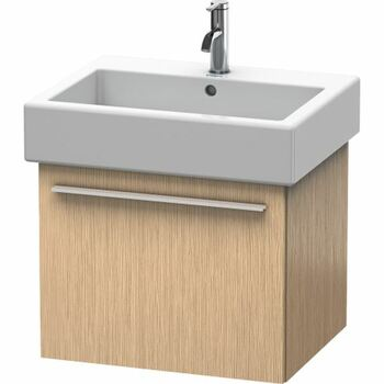 Duravit X-Large XL604407272 550x448 Wall Mounted Vanity Unit Brushed Oak Dark