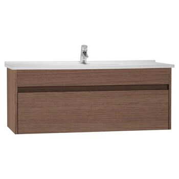 Vitra S50 54748 1200 MM 1 Drawer Basin Unit Oak
