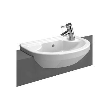 Vitra S50 5597B003-0029 550 MM 1 Right Tap Hole Basin White