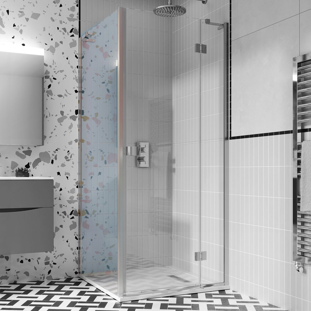 Crosswater | Design 8 | DSPSC0800+ | 800mm Side Panel