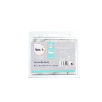 "Harris Seriously Good 102012203 Walls & Ceilings Medium Pile 4"" Mini Roller Sleeve 10 Pack"