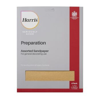 Harris Seriously Good 102064316 Assorted Sandpaper