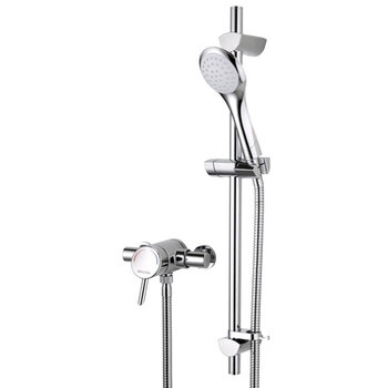 Bristan Acute AE SHXAR C Thermostatic Surface Mounted Shower Valve Chrome