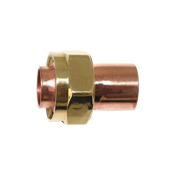 """End Feed   DEF0702   15 MM X 3/4"""" Straight Tap Connector"""